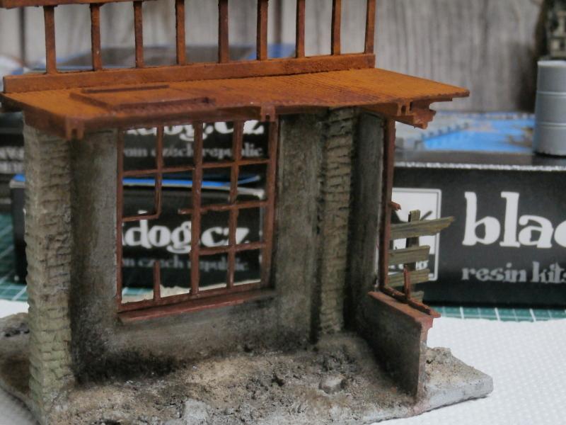 """House ruin"" Black Dog 1/35 (FINI) P5020011"