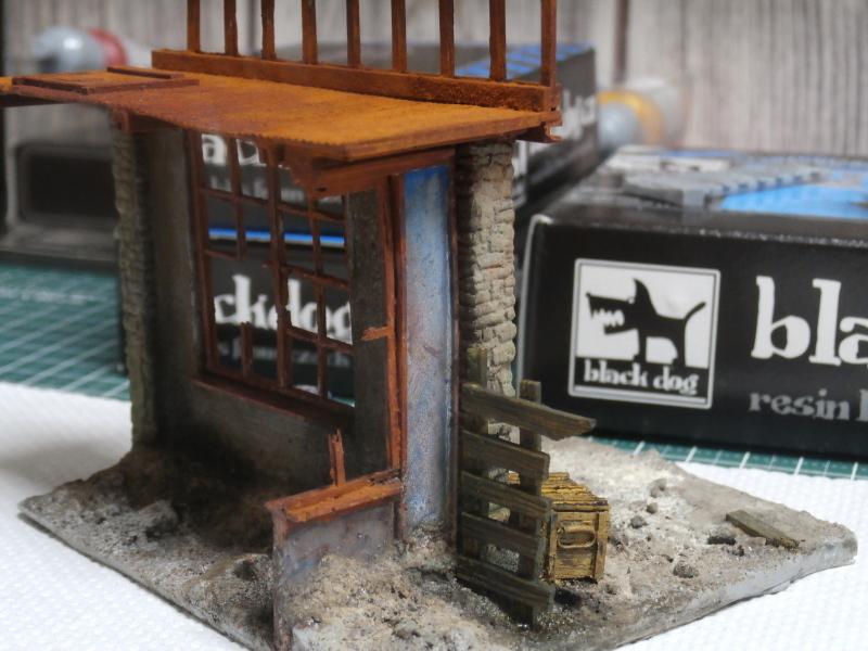 """House ruin"" Black Dog 1/35 (FINI) P5020012"