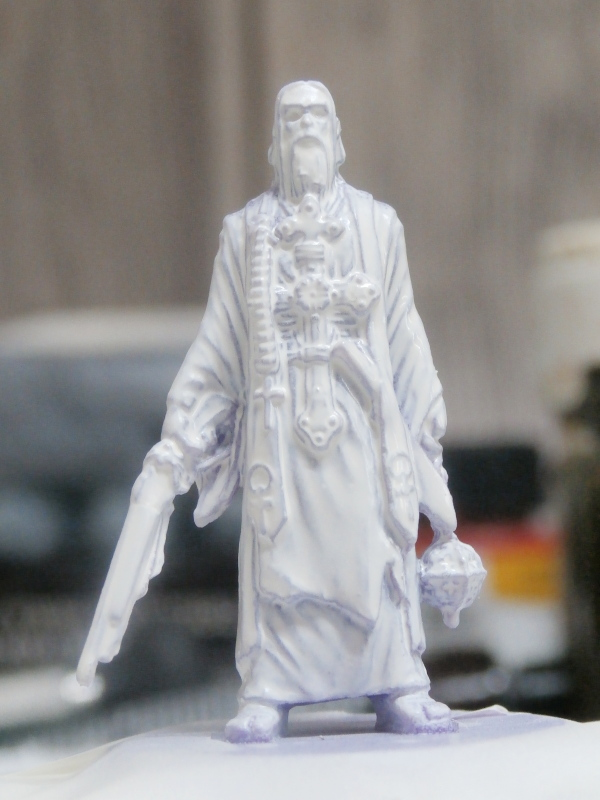 """Padre Johnson"" Scène 1 - Figurine Zombicide 35mm (FINI) P5160010"