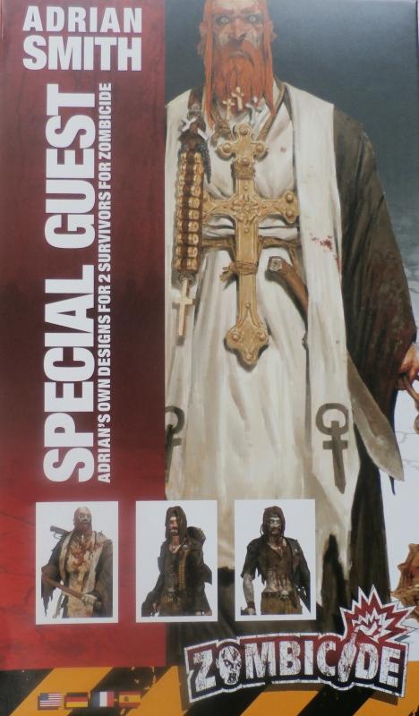 """Padre Johnson"" Scène 1 - Figurine Zombicide 35mm (FINI) P5160011"