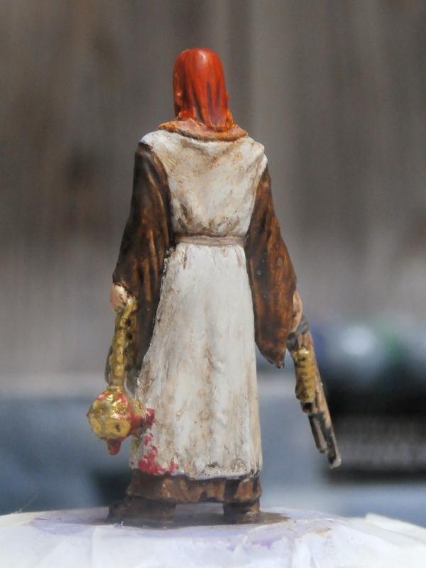 """Padre Johnson"" Scène 1 - Figurine Zombicide 35mm (FINI) P5170010"