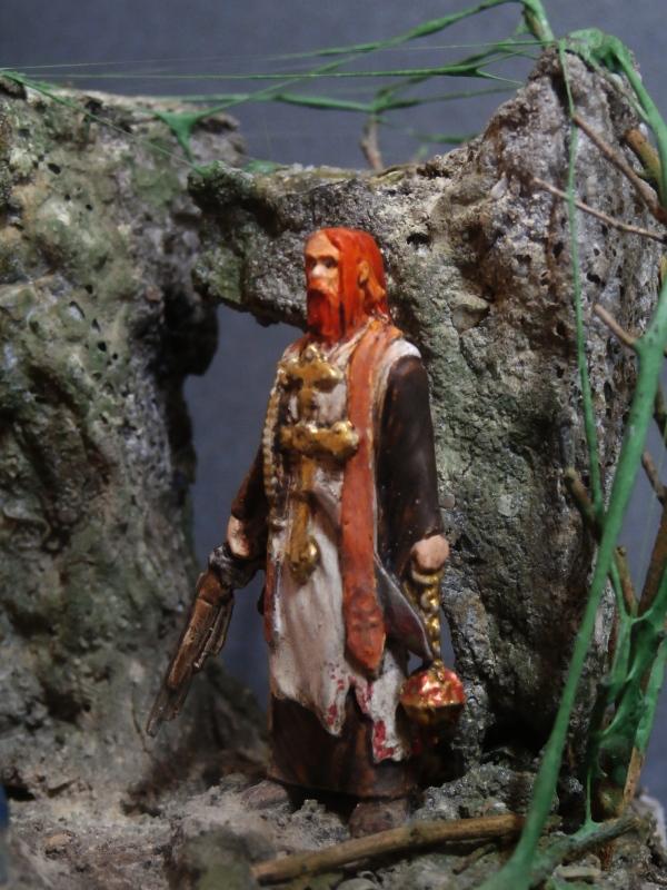 """Padre Johnson"" Scène 1 - Figurine Zombicide 35mm (FINI) P5180013"