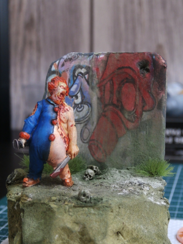 """Oncle Honk"" figurine zombicide 35mm (FINI) P5250011"