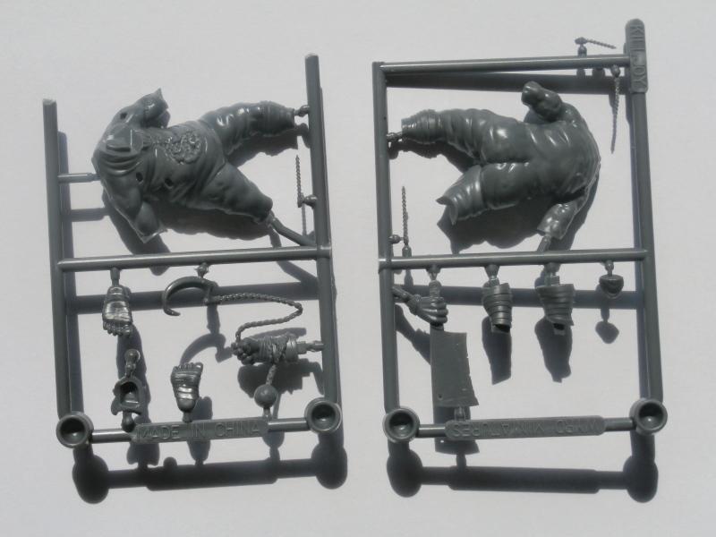 Killjoy vs Terror Tots - figurine Malifaux (FINI) P5290013
