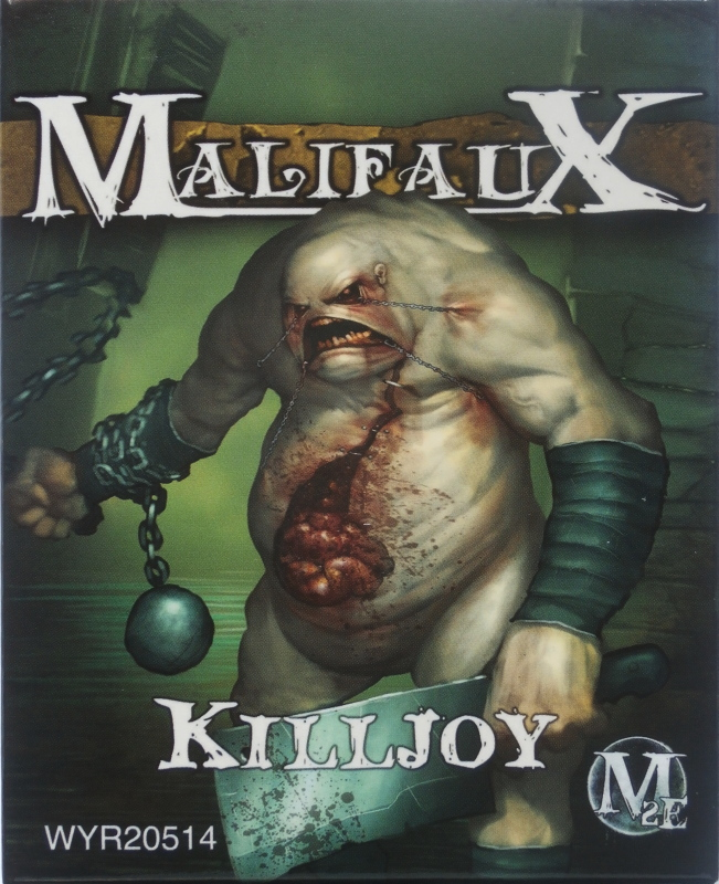 Killjoy vs Terror Tots - figurine Malifaux (FINI) P5290015