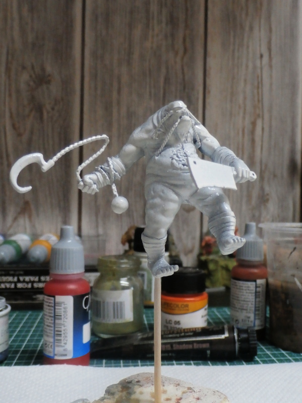 Killjoy vs Terror Tots - figurine Malifaux (FINI) P5290018