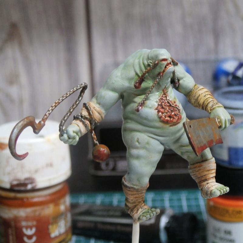 Killjoy vs Terror Tots - figurine Malifaux (FINI) P6010011