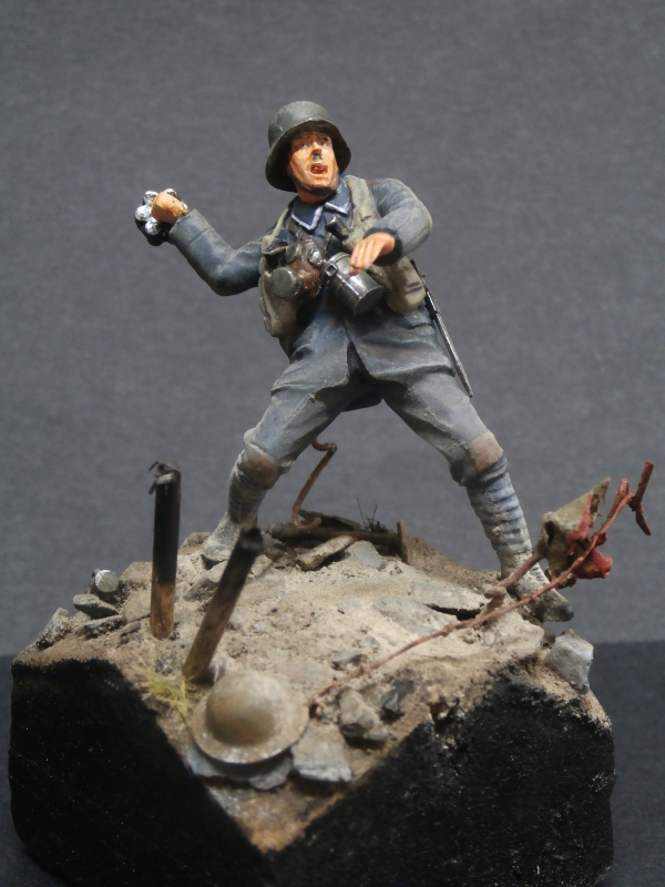 Imperial german army stormtroopers - Figurine Meng 1/35 (FINI) P6080011