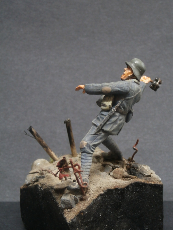 Imperial german army stormtroopers - Figurine Meng 1/35 (FINI) P6080012