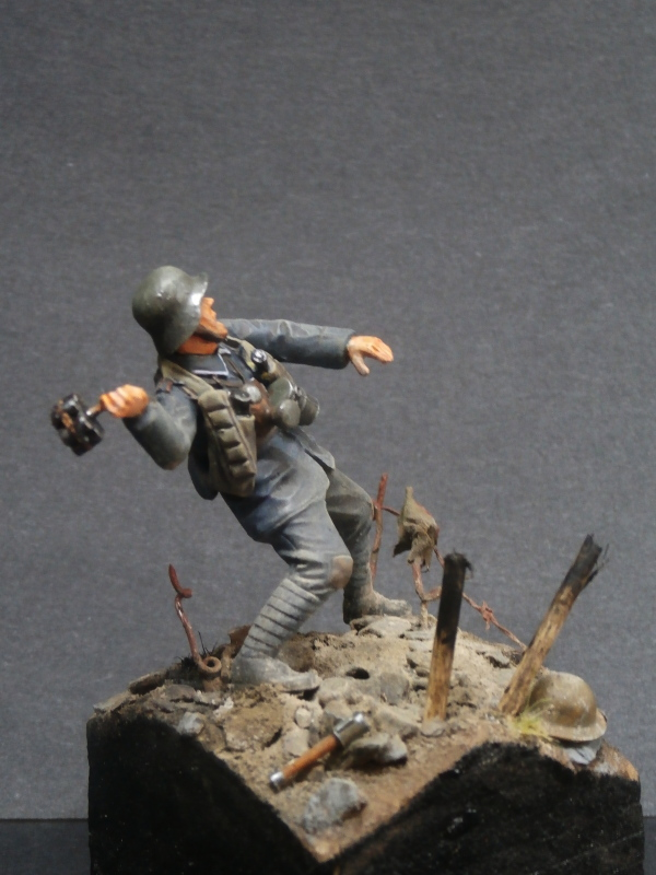 Imperial german army stormtroopers - Figurine Meng 1/35 (FINI) P6080013