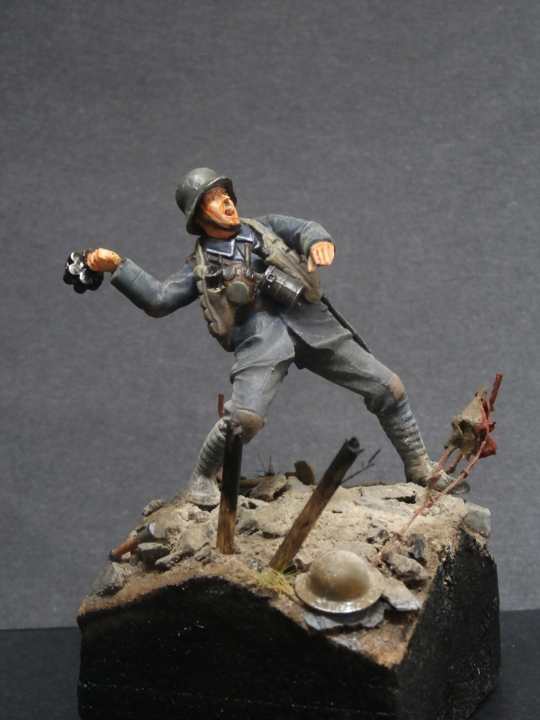 Imperial german army stormtroopers - Figurine Meng 1/35 (FINI) P6080014