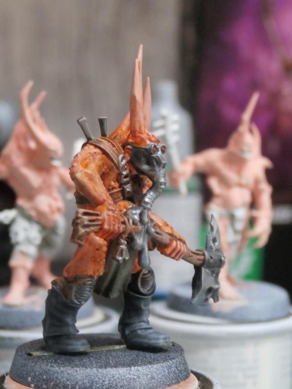 Death Guard Poxwalkers- figurine Warhammer P6100012