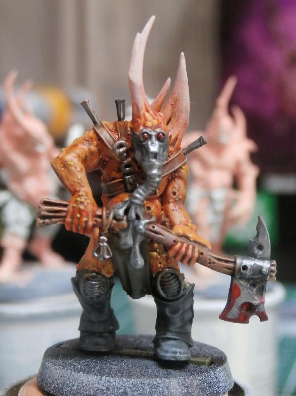 Death Guard Poxwalkers- figurine Warhammer P6110011