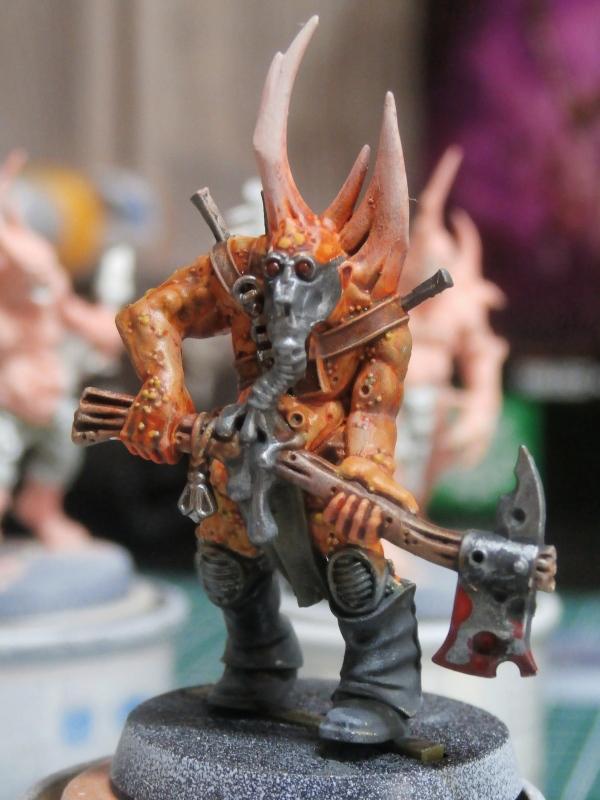 Death Guard Poxwalkers- figurine Warhammer P6110013