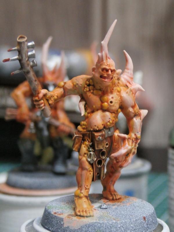 Death Guard Poxwalkers- figurine Warhammer P6110015