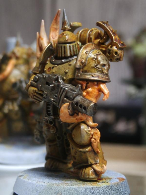 Death Guard Plague Marines - Warhammer - 28mm (FINI) P7010028