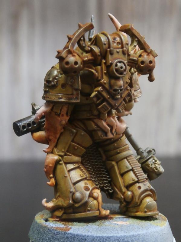 Death Guard Plague Marines - Warhammer - 28mm (FINI) P7020014