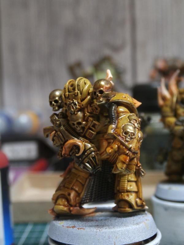Death Guard Plague Marines - Warhammer - 28mm (FINI) P7030014