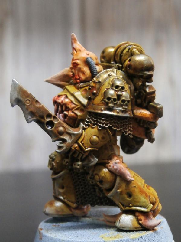Death Guard Plague Marines - Warhammer - 28mm (FINI) P7040012