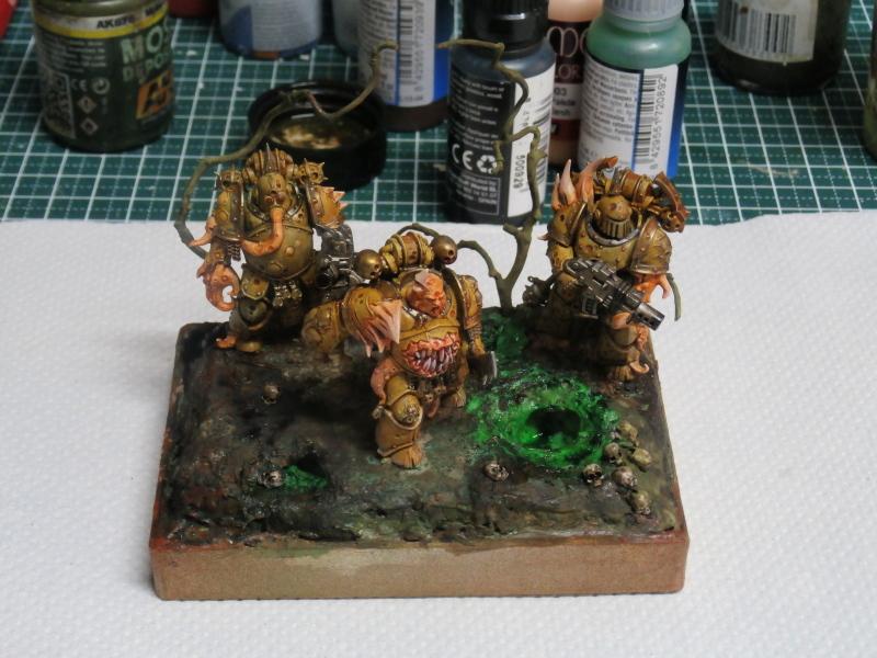 Death Guard Plague Marines - Warhammer - 28mm (FINI) P7040017
