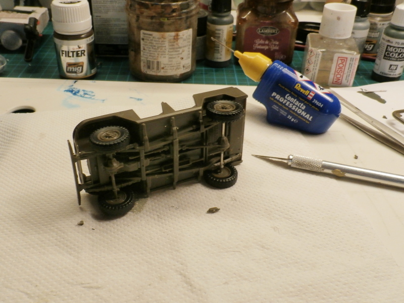 Jeep chinoise BJ212 Trumpeter 1/35 (FINI) P7050011