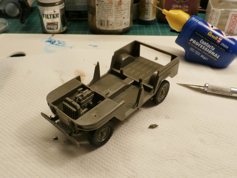 Jeep chinoise BJ212 Trumpeter 1/35 (FINI) P7050012
