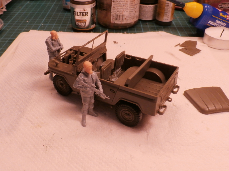 Jeep chinoise BJ212 Trumpeter 1/35 (FINI) P7060010