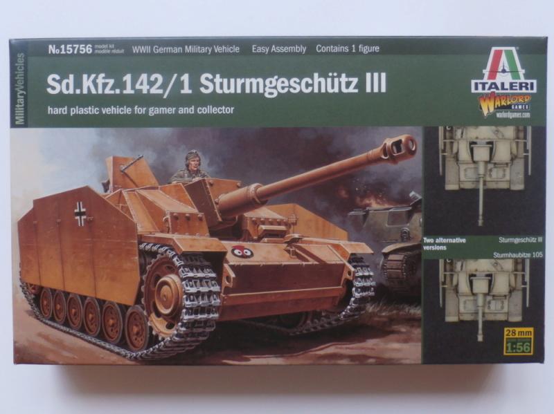 Ouvre boite Sturmgeschütz III/Sturmhaubitze 105 Italeri 1/56 P7100017