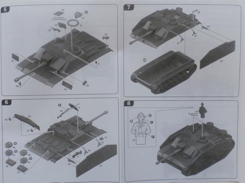 Ouvre boite Sturmgeschütz III/Sturmhaubitze 105 Italeri 1/56 P7100020