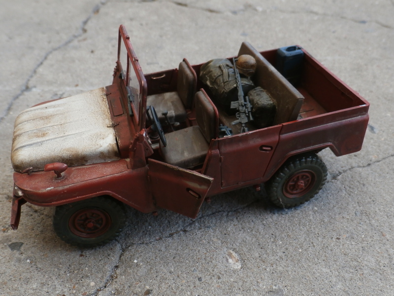 Jeep chinoise BJ212 Trumpeter 1/35 (FINI) P7160015