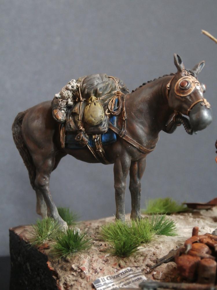 Survivant avec son cheval - figurine Kellerkind Miniaturen - 1/35 (FINI) - Page 2 P7170013