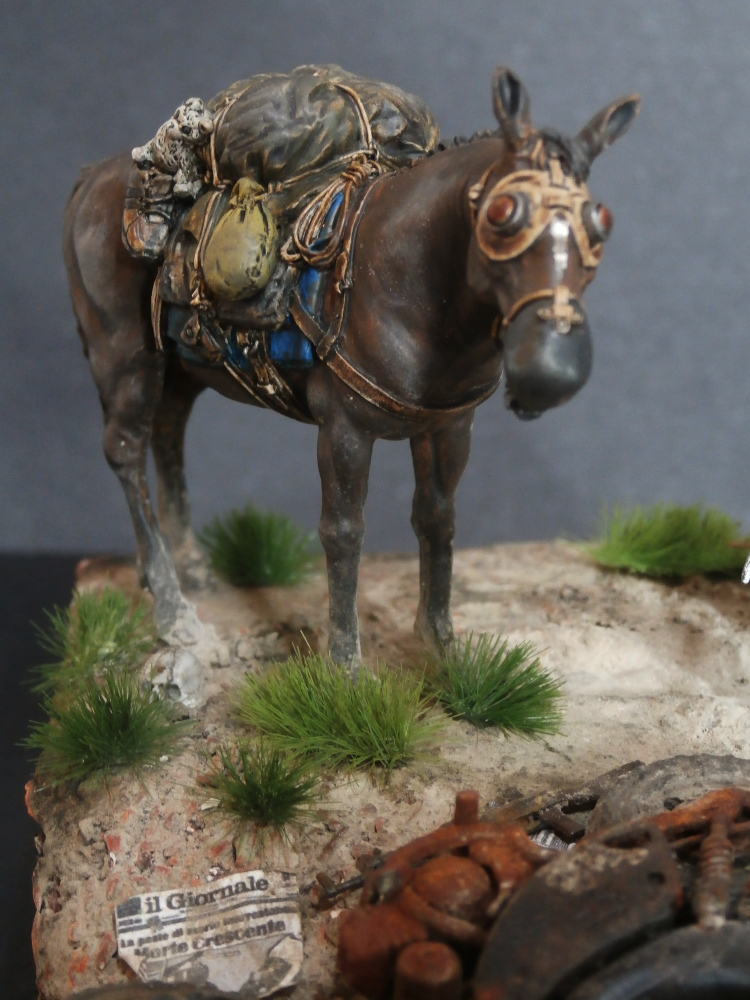 Survivant avec son cheval - figurine Kellerkind Miniaturen - 1/35 (FINI) - Page 2 P7170016