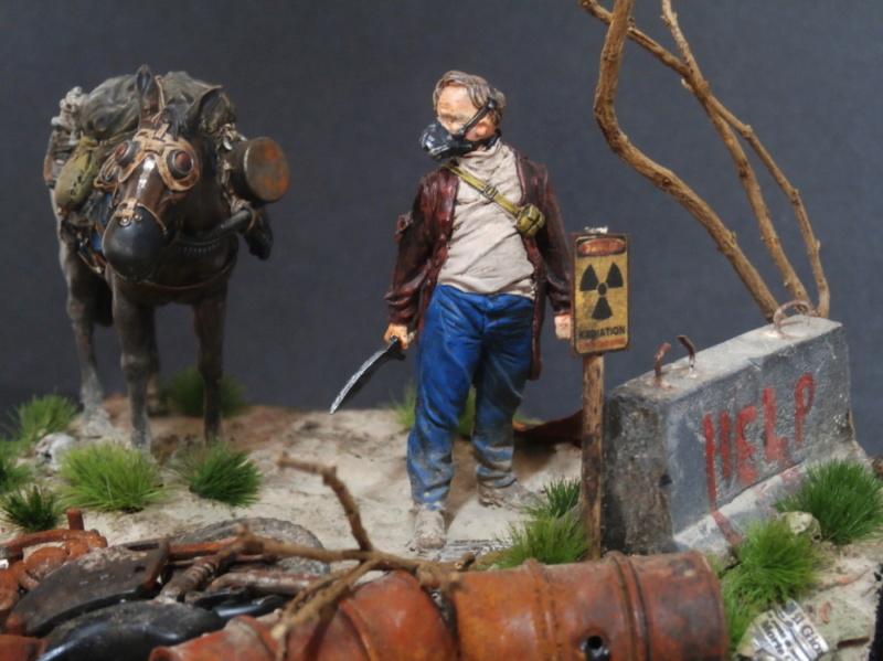 Survivant avec son cheval - figurine Kellerkind Miniaturen - 1/35 (FINI) - Page 2 P7170017