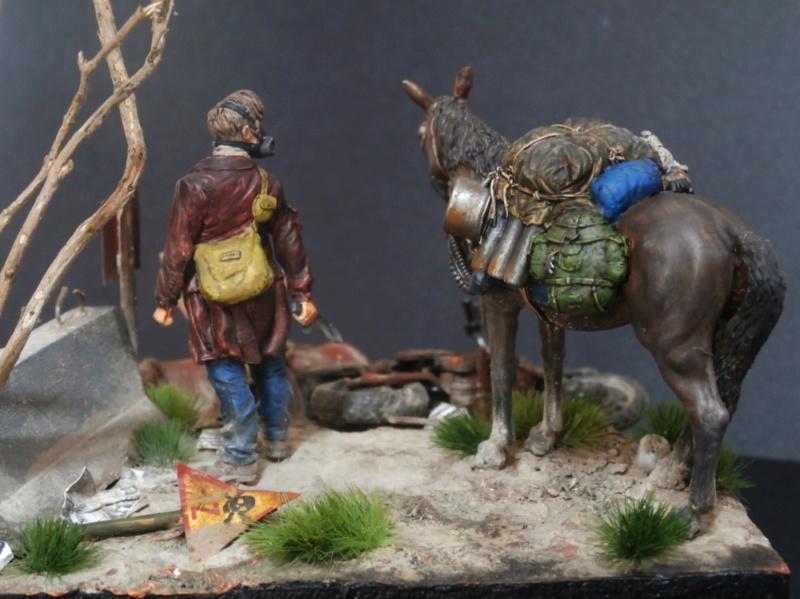 Survivant avec son cheval - figurine Kellerkind Miniaturen - 1/35 (FINI) - Page 2 P7170019