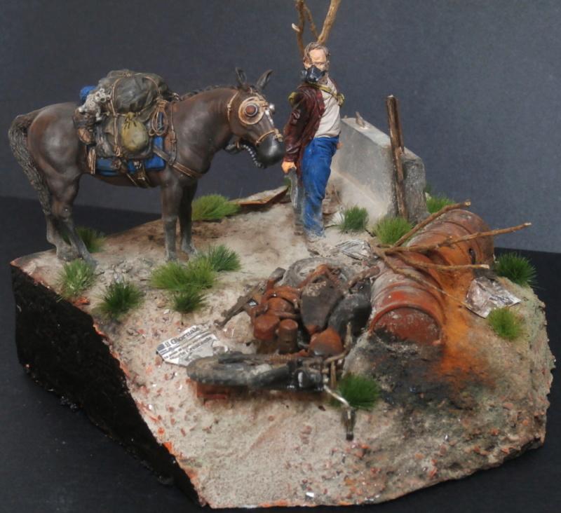 Survivant avec son cheval - figurine Kellerkind Miniaturen - 1/35 (FINI) - Page 2 P7170020