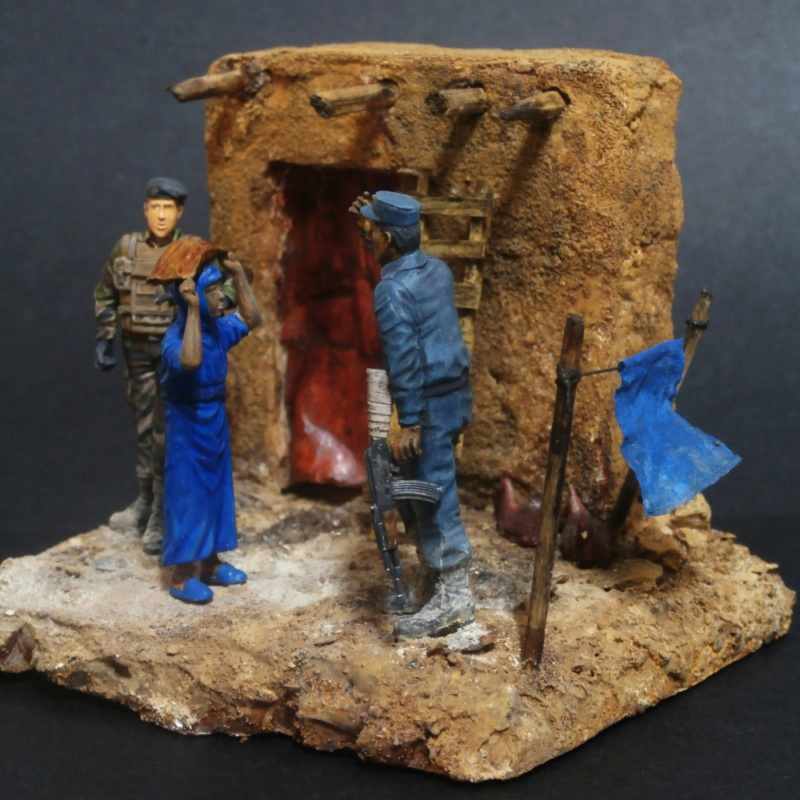 Afghanistan scène 1 - Figurines Djitis Production + figurine Meng 1/35 (FINI) - Page 2 P7170024