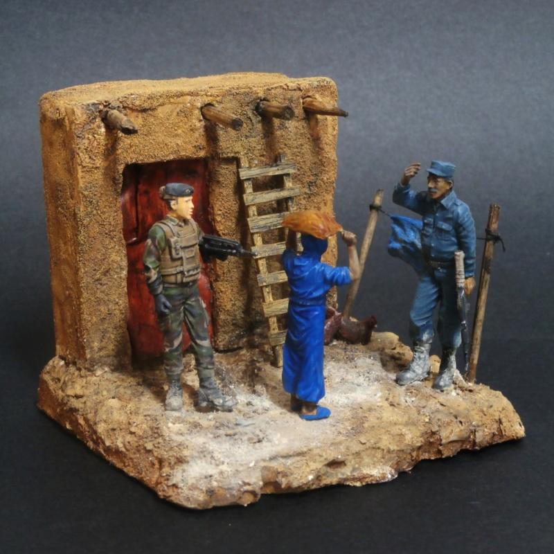 Afghanistan scène 1 - Figurines Djitis Production + figurine Meng 1/35 (FINI) - Page 2 P7170025