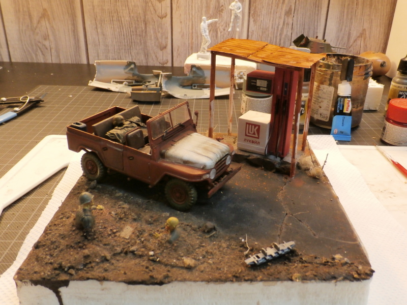 Jeep chinoise BJ212 Trumpeter 1/35 (FINI) - Page 2 P7200013