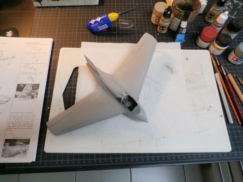 Me 163B Komet - Hasegawa - 1/32 (FINI) - Page 2 P7230011