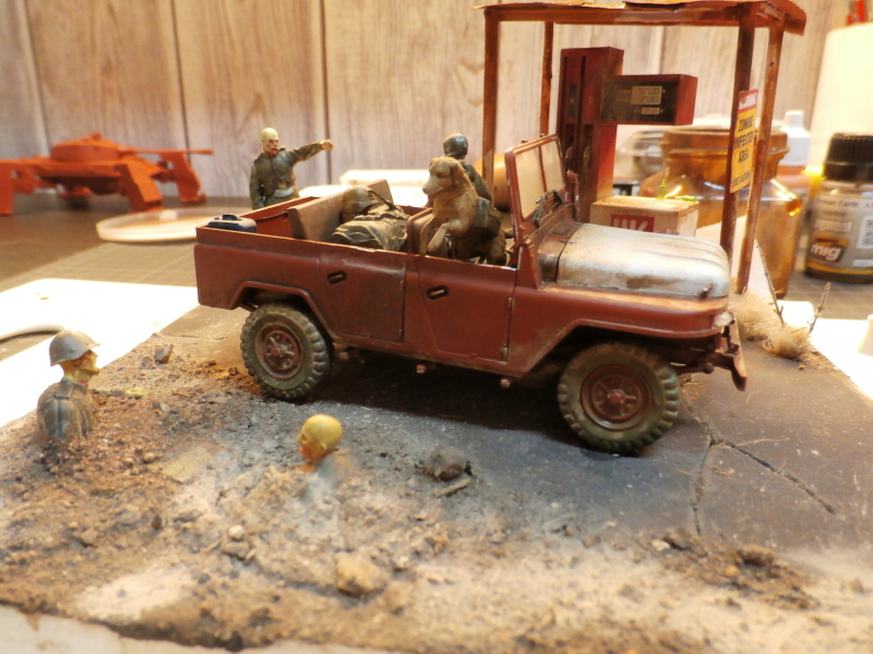 Jeep chinoise BJ212 Trumpeter 1/35 (FINI) - Page 3 P8090019