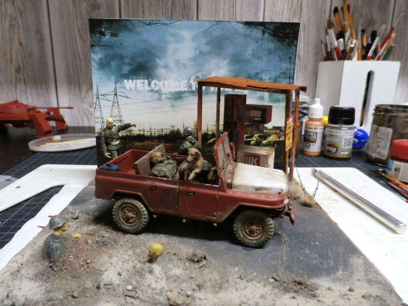 Jeep chinoise BJ212 Trumpeter 1/35 (FINI) - Page 3 P8090023