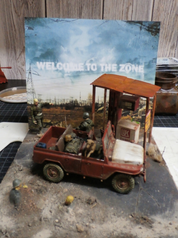 Jeep chinoise BJ212 Trumpeter 1/35 (FINI) - Page 3 P8090024