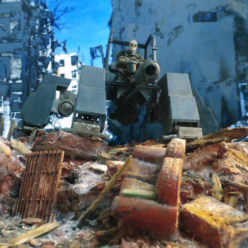 2077 - Zombie extermination - 1/35 scratch (FINI) - Page 3 P8200018