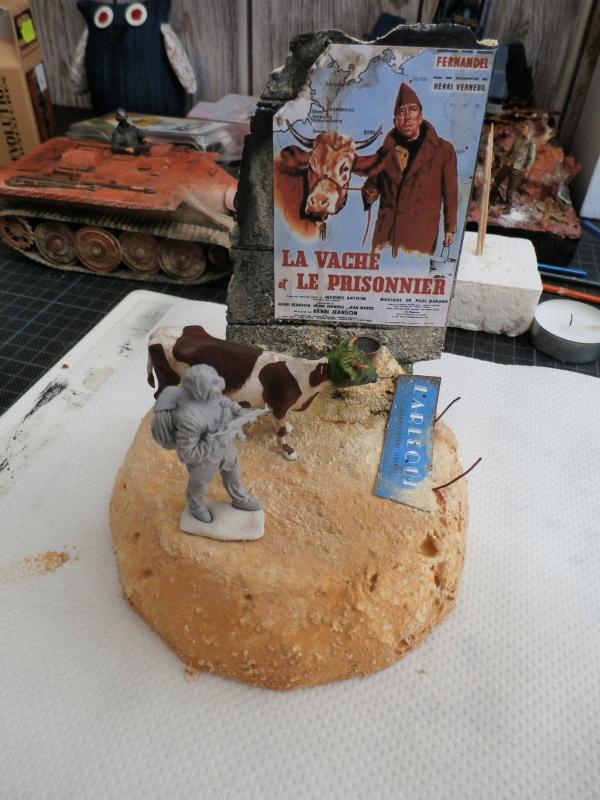 """Remake """"La vache et le prisonnier"""" 1/35 (FINI) P8260013"""