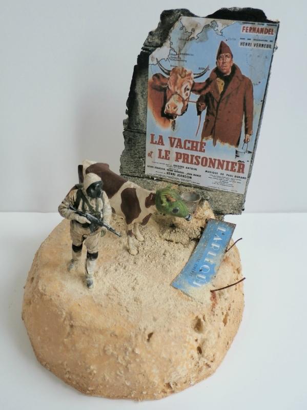 """Remake """"La vache et le prisonnier"""" 1/35 (FINI) - Page 2 P8270017"""