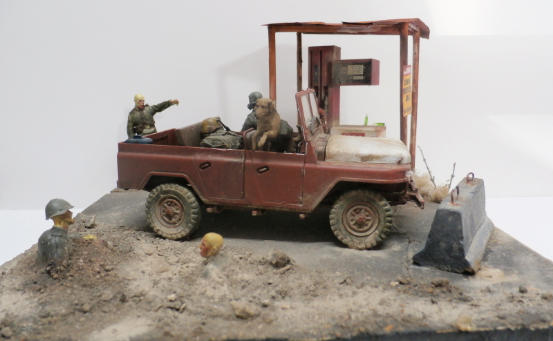 Jeep chinoise BJ212 Trumpeter 1/35 (FINI) - Page 3 P9290023