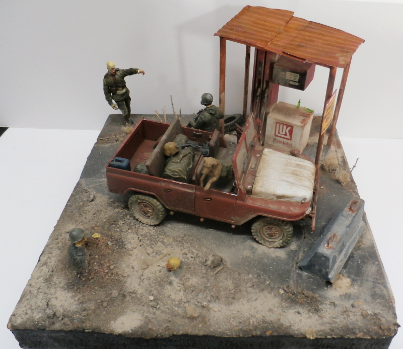 Jeep chinoise BJ212 Trumpeter 1/35 (FINI) - Page 3 P9290024