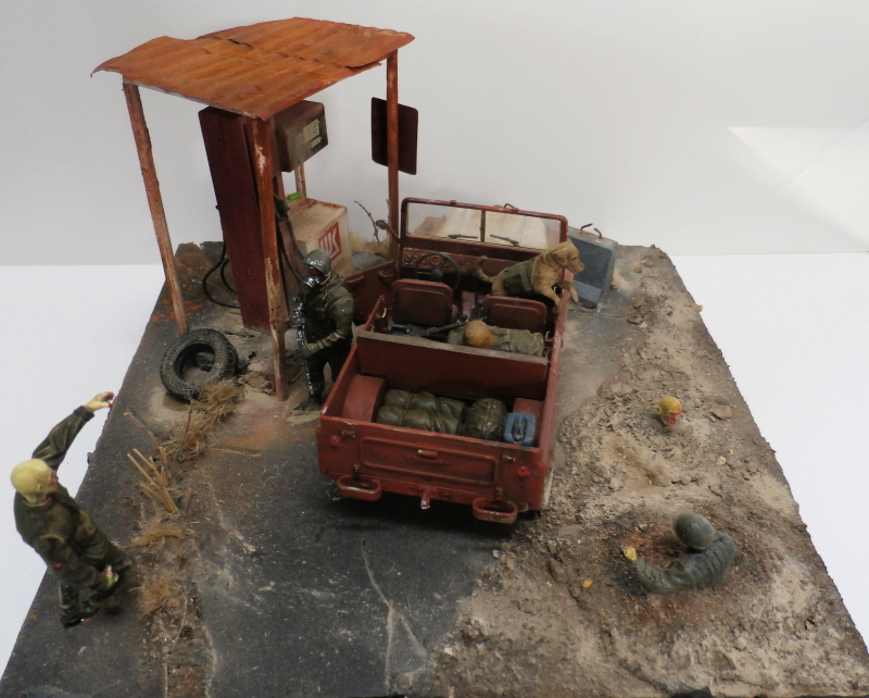 Jeep chinoise BJ212 Trumpeter 1/35 (FINI) - Page 3 P9290025