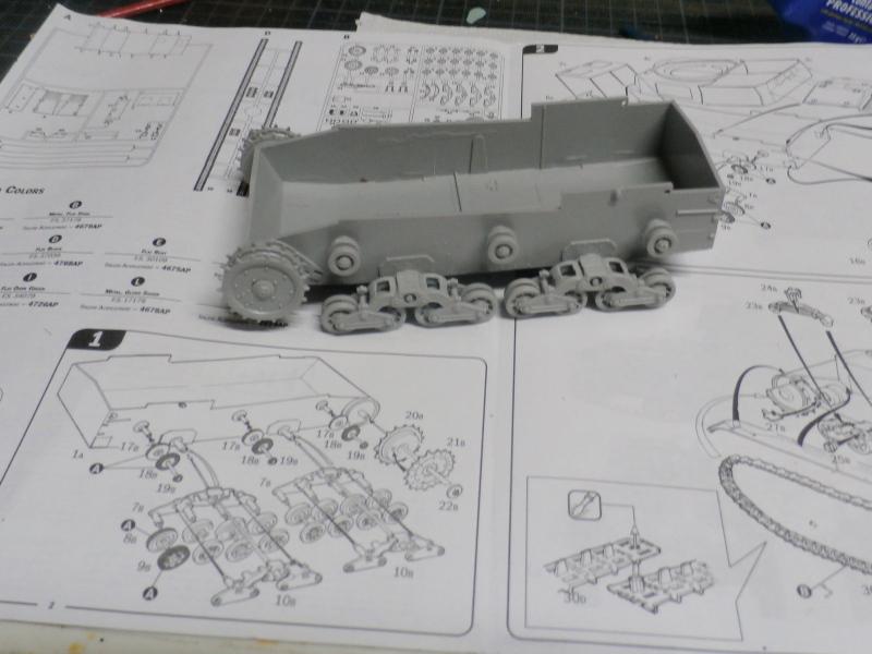 Carro Armato M14/41 Italeri 1/35 (FINI) Pa120010