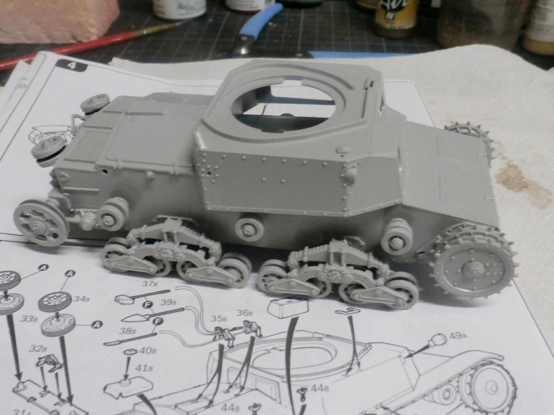 Carro Armato M14/41 Italeri 1/35 (FINI) Pa120011